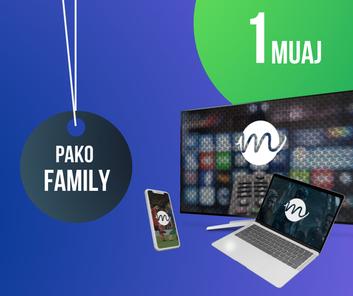 Pako Family - 1 Muaj Abonim